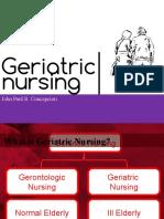 GERIATRIC NURSING S4