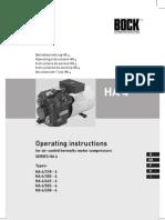 HA4 BOCK operating instructions