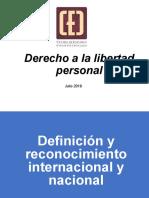 Derecho a La Libertad Personal Para El CEC