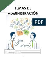 Cuadernillo Temas de Administracion