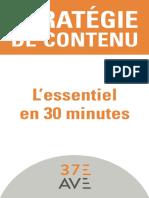 Strategie du contenu l essentiel en 30 min