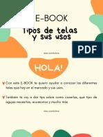 Tipos de telas E-book