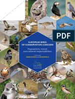 European Birds of Conservation Concern_Low