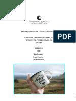 UNMDP Inglés Curso Ingreso 2021