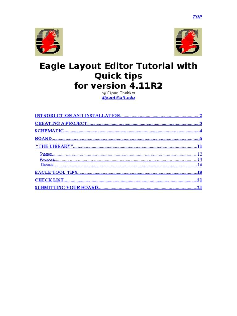 Eagle Layout Editor Tutorial | Icon (Computing) | Zip (File Format)