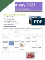 February Cornerstone