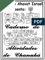 Caderno Atividade -Chanuka