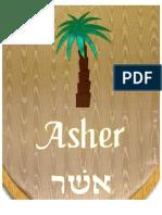 Estandarte tribos Asher-Doc43