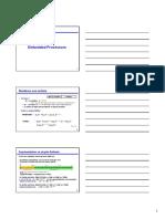 S 1 2 3 Introduction Et Rappel Processeurs Embarqués Print Version