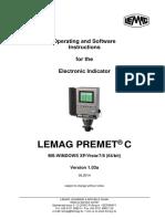 PREMET C - Operator&Software (WPREMET C) 2014-05-05