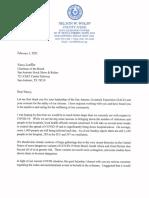 Judge Wolff Letter to Nancy Loeffler