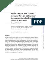Nishida Kitaro and Japan's interwar foreign policy_Kosuke Shimizu
