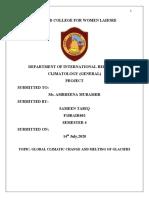 Climatology Project