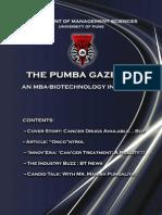 The PUMBA Gazette - January 2011 Edition