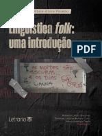 Linguística folk uma introdução-Letraria
