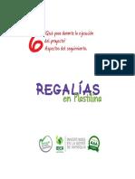Cartilla Regalías en Plastilina - V. 6