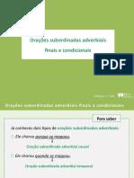 DIAL7_Oracoes subordinadas finais e condicionais