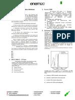 HV - Lista de Atomística e Modelos Atômicos