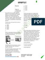 HV - Lista de Matemática Financeira