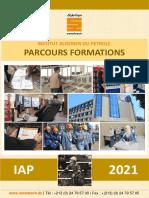 Catalogue Parcours de Formations Longues Durées IAP 2021