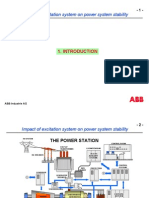 IMPACT OF EXCITATION SYSTEM ON POWER SYSTEM STABILITY