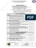 1.3 Self-Assessment Checklist Form 1.1