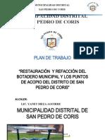 PLAN DE TRABAJO RESIDUOS SOLIDOS