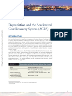 Depreciation and the Accelerated Cost Recovery System (ACRS)
