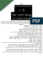parnasa salmo 23 y 24