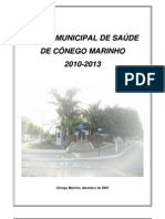 Plano municipal de Saúde de Cônego Marinho