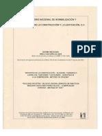 NMX-C-036 (Bloques, Ladrillos Resistencia Compresion