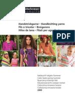 Schachenmeyer Spring Summer Yarn catalog
