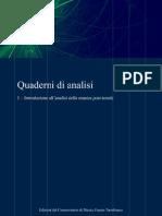 Quaderni Di Analisi 1 Anteprima