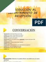 Fraseología de Recepción