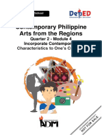 Contemporary Philippine Arts From the Regions 12 Q2 M4 Incorporate