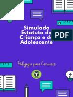 Simulado Estatuto Da Criança e Do Adolescente - Blog Pedagogia Para Concursos