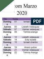 decom 2020
