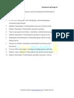 Pang-Uri - Kaantasan (5 Worksheets)