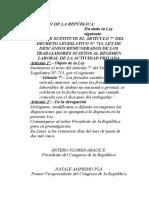 modificatoria de art7 del decreto legislativo713
