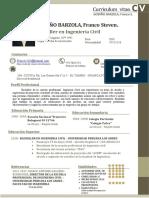 Cv Descriptivo - Franco Steven Godiño Barzola