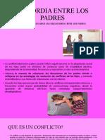 DISCORDIA ENTRE LOS PADRES (1)