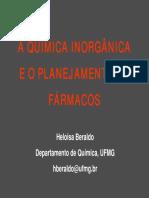 Quimica Inorgânica Medicinal