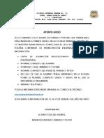 Requisitos de preinscripcion