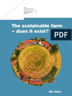 The Sustainable Farm. Does it exist _