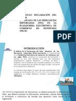 PRESENTACION MODULO ELECTRONICO DVA MARZO 2019