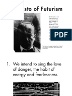 Manifesto of Futurism