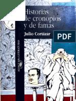 Julio Cortázar. Historias de Cronopios y de Famas.