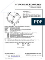 P Robar 1408 Cast Ductile Iron Couplings