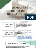 Elaboracion de Leche Deslactosada