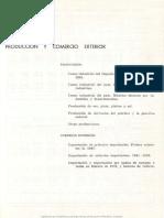Censo Industrial. Producción y Comercio Exterior, 1947